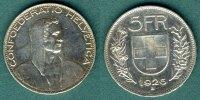 5 Franken 1926 Schweiz Alphirte f.vz  129,00 EUR  + 6,90 EUR frais d'envoi