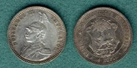 Deutsch Ostafrika 1/4 Rupie 1891 vz- Wilhelm II. 55,00 EUR 