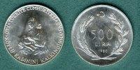 500 Lira  1980 Türkei FAO / Mutter mit Kind vz/stgl.  13,90 EUR  +  5,90 EUR shipping