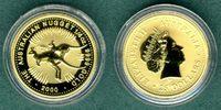 25 Dollars 2000 Australien Australien Nugget 1/4 oz. Zwei Känguruhs / B... 379,00 EUR