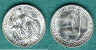 1/2 Dollar 1936 D USA San Diego - Pacific International Exposition vz/s... 129,00 EUR  + 6,90 EUR frais d'envoi