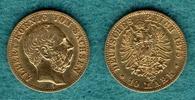 10 Mark 1875 E Sachsen Albert ss  269,00 EUR  +  6,90 EUR shipping