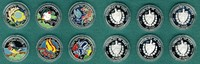 6 x 20 Pesos 1996 Kuba Fauna der Karibik 1996- Farbmünzen seltene Piedf... 445,00 EUR  + 9,90 EUR frais d'envoi