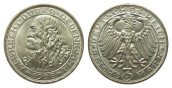 Weimarer Republik 3 Mark Dürer 1928 D wz. ...