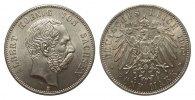 5 Mark Sachsen  Kursmünze 1902 E Kaiserreich  Bildseite Kratzer, sonst ... 795,00 EUR kostenloser Versand
