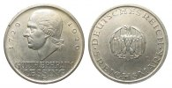 Weimarer Republik 5 Mark Lessing 1929 J kl...