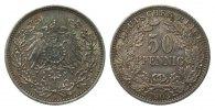 50 Pfennig 1903 A Kaiserreich  vorzüglich  315,00 EUR kostenloser Versand