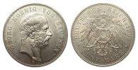 5 Mark Sachsen 1903 E Kaiserreich  min. Rf., Bildseite vz/St, Adlerseit... 695,00 EUR