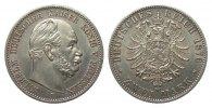 2 Mark Preussen 1876 B Kaiserreich  vz - vz/St  595,00 EUR kostenloser Versand