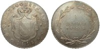 Baden Kronentaler 1818 D Altdeutschland bis 1871  fast Stempelglanz  945,00 EUR kostenloser Versand