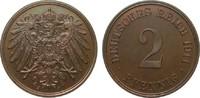 2 Pfennig 1911 J PCGS certified  PCGS PR67 BN  295,00 EUR kostenloser Versand