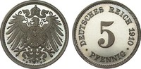 5 Pfennig 1910 E PCGS certified  PCGS PR67 DCAM  395,00 EUR kostenloser Versand