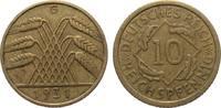 10 Pfennig 1931 G Weimarer Republik  gutes sehr schön  275,00 EUR kostenloser Versand
