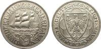5 Mark Bremerhaven 1927 A Weimarer Republik  besser als vorzüglich  495,00 EUR