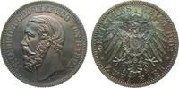 2 Mark Baden 1902 G Kaiserreich  min. Haarlinien, polierte Platte  7950,00 EUR