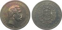 2 Mark Hessen 1876 H Kaiserreich  wz. Kr., berieben, polierte Platte  8950,00 EUR kostenloser Versand