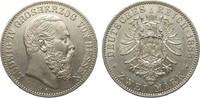 2 Mark Hessen 1888 A Kaiserreich  fast vorzüglich  2950,00 EUR