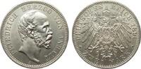 2 Mark Anhalt 1896 A Kaiserreich  Bildseite vz/St, Adlerseite f.St  795,00 EUR kostenloser Versand