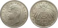 2 Mark Bayern 1893 D Kaiserreich  kl. Kratzer Bildseite, vorzüglich / S... 395,00 EUR kostenloser Versand