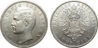 5 Mark Bayern 1888 D Kaiserreich  min. Rf., Bildseite vz, Adlerseite vz+  995,00 EUR kostenloser Versand