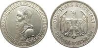 3 Mark Universität Tübingen 1927 F Weimarer Republik  l. berieben, gute... 285,00 EUR