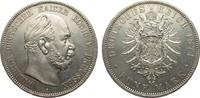 5 Mark Preussen 1874 A Kaiserreich  Bildseite leicht berieben, vz  /  vz+  375,00 EUR