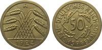 50 Reichspfennig 1924 A Weimarer Republik  besser als vorzüglich  1650,00 EUR kostenloser Versand