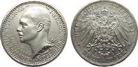 3 Mark Hessen 1917 A Kaiserreich  min. Randfehler, fast Stempelglanz  4950,00 EUR kostenloser Versand
