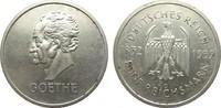 5 Mark Goethe 1932 G Weimarer Republik  sehr schön / vorzüglich  2950,00 EUR kostenloser Versand