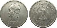 5 Mark Goethe 1932 J Weimarer Republik  sehr schön  2150,00 EUR kostenloser Versand
