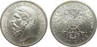5 Mark Baden 1900 G Kaiserreich  min. Rf., vorzüglich / Stempelglanz  1395,00 EUR kostenloser Versand