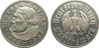 5 Mark Luther 1933 F Drittes Reich  min. berieben, polierte Platte  495,00 EUR kostenloser Versand