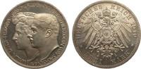 3 Mark Sachsen-Weimar-Eisenach 1910 A Kaiserreich  Bildseite wz. Kratze... 295,00 EUR kostenloser Versand