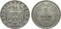 1 Mark 1927 A Weimarer Republik  sehr schön  435,00 EUR kostenloser Versand