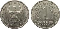 1 Mark 1934 J Drittes Reich  sehr schön / vorzüglich  5,00 EUR  plus 4,00 EUR verzending