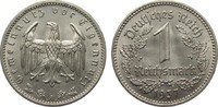 1 Mark 1937 A Drittes Reich  min. Randfehler, besser als vorzüglich  5,00 EUR  plus 4,00 EUR verzending