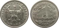 1 Mark 1937 D Drittes Reich  knapp vorzüglich  5,00 EUR  plus 4,00 EUR verzending