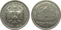 1 Mark 1939 G Drittes Reich  gutes vorzüglich  285,00 EUR Gratis verzending