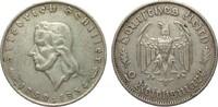 2 Mark Schiller 1934 F Drittes Reich  kl. Randfehler, sehr schön  35,00 EUR  plus 4,00 EUR verzending