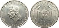 2 Mark Schiller 1934 F Drittes Reich  vorzüglich / Stempelglanz  79,00 EUR  plus 4,00 EUR verzending
