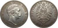 5 Mark Preussen Wilhelm II 1888 A Kaiserreich  Bildseite kl. Kr., vz/St... 1100,00 EUR kostenloser Versand