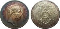 5 Mark Sachsen Georg auf den Tod 1904 E Kaiserreich  Bildseite vz/St, A... 325,00 EUR kostenloser Versand