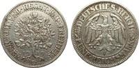 5 Mark Eichbaum 1929 E Weimarer Republik  sehr schön  385,00 EUR kostenloser Versand