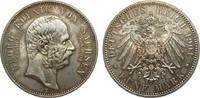 5 Mark Sachsen Georg auf den Tod 1904 E Kaiserreich  Bildseite wz. Krat... 340,00 EUR kostenloser Versand