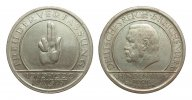 Weimarer Republik 5 Mark Verfassung 1929 F...