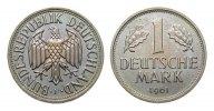 1 DM 1961 F Bundesrepublik Deutschland  Stempelglanz  259,00 EUR kostenloser Versand