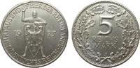 5 Mark Rheinlande 1925 J Weimarer Republik  reparierter Randfehler, fas... 295,00 EUR
