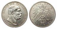 2 Mark Sachsen-Altenburg 1901 A Kaiserreich  fast Stempelglanz  995,00 EUR kostenloser Versand