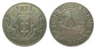 2 Gulden Danzig 1932 Kolonien und Nebengebiete  sehr schön  365,00 EUR