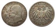 2 Mark Hessen 1904 Kaiserreich  polierte Platte  315,00 EUR kostenloser Versand